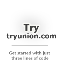 Get started with tryunion.com...