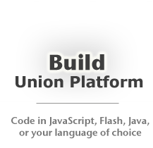 Build connected applications JavaScript, Flash, Java, or your language of choice